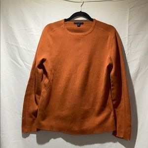 Men's dark orange sweater. LIKE NEW!